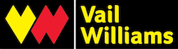 Logo for commercial property adviser client Vail Williams