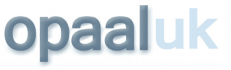 Logo of older people charity Opaal UK